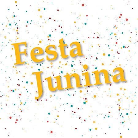 festa: confetti background vector illustration eps 10 Festa junina Illustration