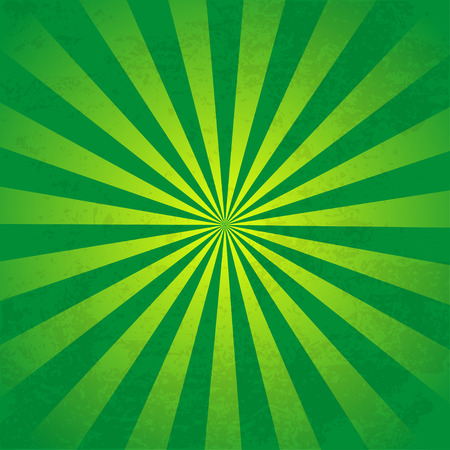 Rays  background  green