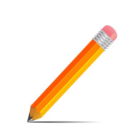 grafit: Grafitowy ołówek z cieniem