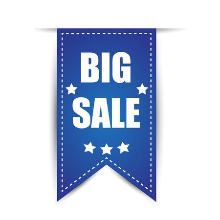 sale tag: tag big sale with shadow