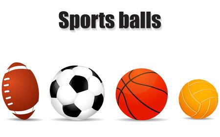 pool ball: Set realistic of balls illustration Illustration