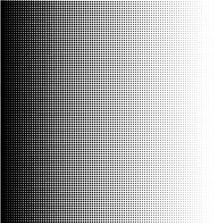 Halftone dots gradient in format vector