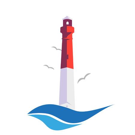 lighthouse with beam: Stylish  lighthouse