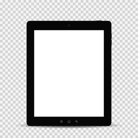 palmtop: Tablet with shadow isolated