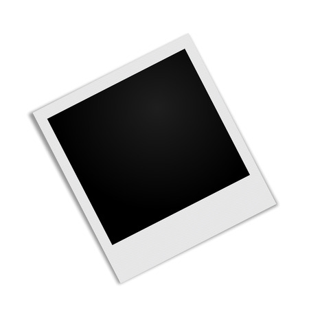 polaroid frame: Photo Frame with shadow