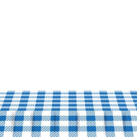 table decor: blue patterns tablecloths