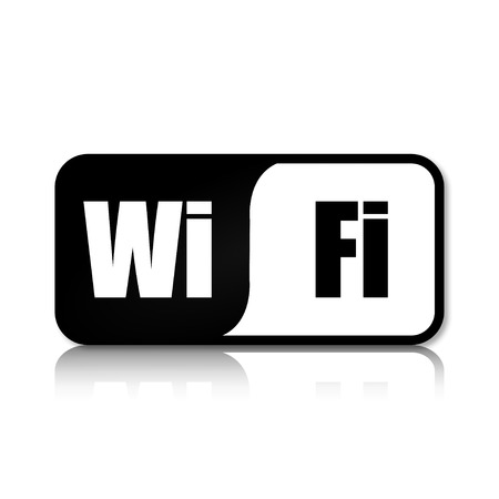wi fi icon: Wifi symbol icon Illustration