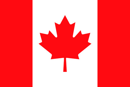 patriotic: Flag of Canada