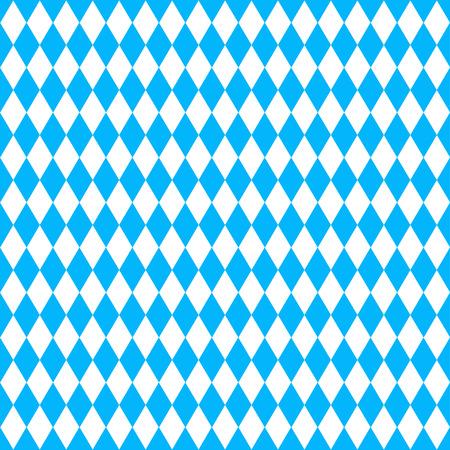 青い菱形とオクトーバーフェストの背景