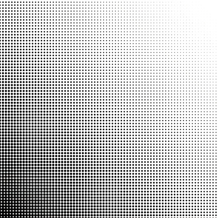 dots: Halftone dots gradient point at 45 degrees