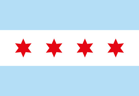 290 chicago flag stock vector illustration and royalty free