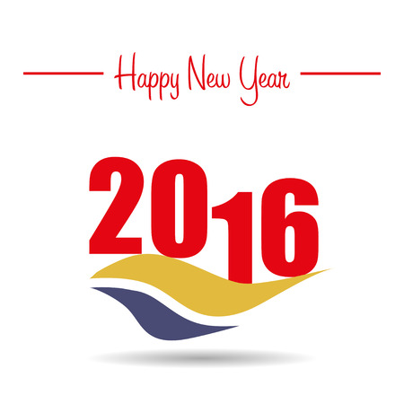 happy new year text: Happy new year 2015 with text ,shadow