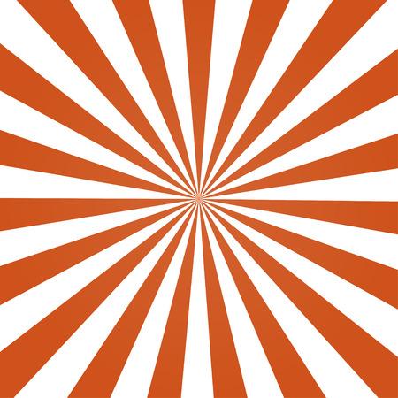 オレンジ色の背景レトロなスタイルがスタイリッシュなレイ