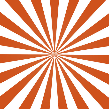 Ray orange color background retro style  stylish Stock Illustratie