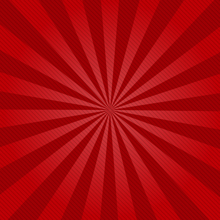 color background: Retro ray background with lines of red  color Illustration