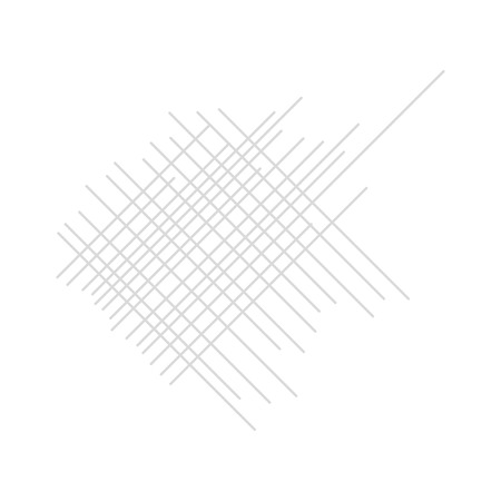 cross hatching: Shading in gray on a white  background attrition Illustration