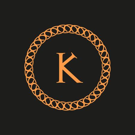 arte moderno: carta con un fondo negro ornamento