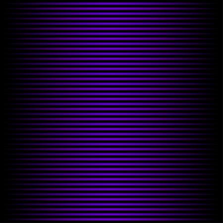 horizontal lines: Bright glowing blue horizontal lines on  black background Illustration