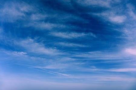 blue summer sky: Clouds in the blue sky summer  background