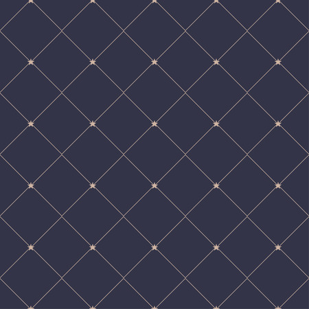 rhombus: Geometric pattern with lines, seamless vector background Illustration