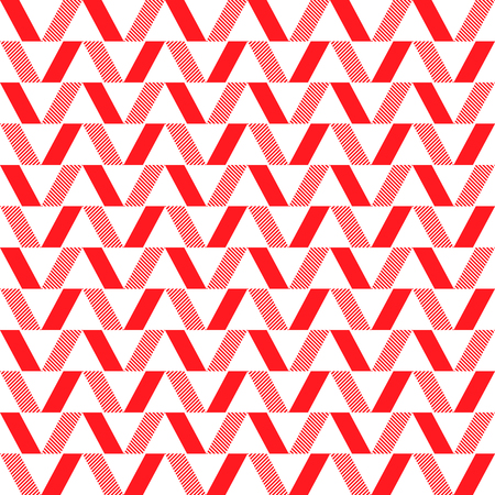 Quadrilateral red background, stylish design a vector illustration