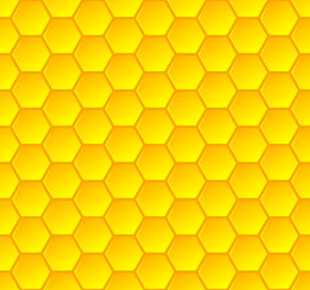 Honeycombs élégant sans soudure, arrière-plan et illustration vectorielle Banque d'images - 78001967