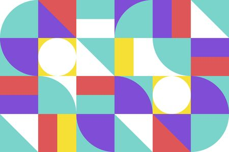 Abstract background with Geometry shape. Pattern graphic. Vector illustration