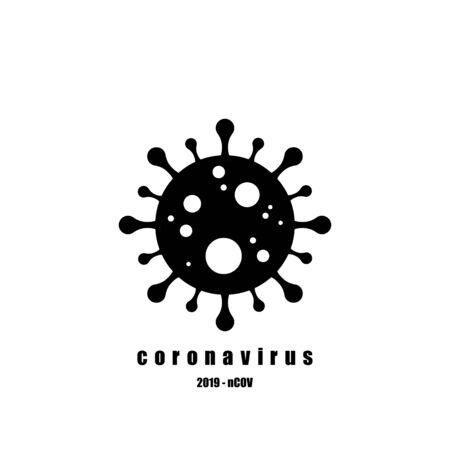 Coronavirus icon, 2019-nCoV. Dangerous Coronavirus Cell . Vector illustration. Coronavirus symbol 向量圖像
