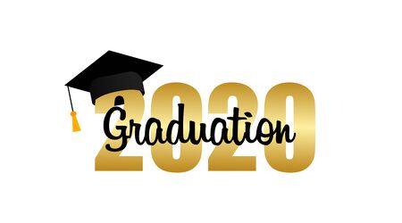 Graduation cap. Template Design Elements. Graduation . Vector illustration 向量圖像