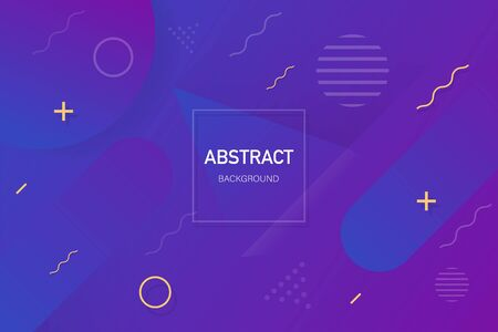 Abstract vector background. Background with modern gradient shape. Vector