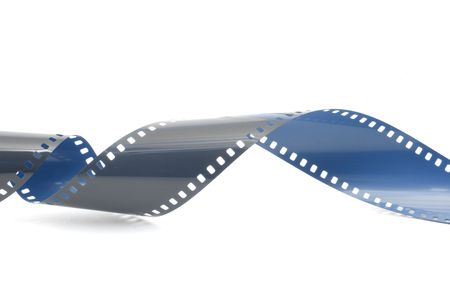film strip in front of a white background Stock Photo - 5033373