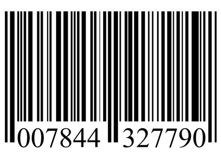 closeup of a bar code isolated on white background Stock Photo - 5294785