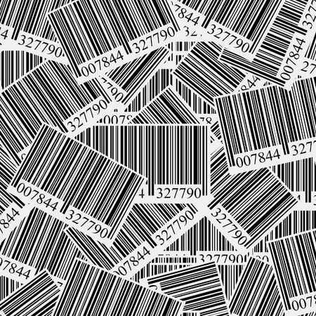 background with a lot of bar codes Stock Photo - 6447489