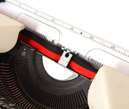 detail of a mechanical typewriter Stock Photo - 8826095