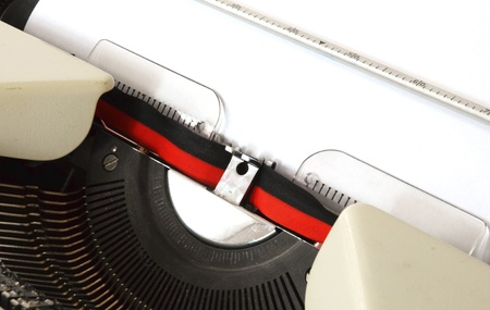 detail of a mechanical typewriter Stock Photo - 8825841