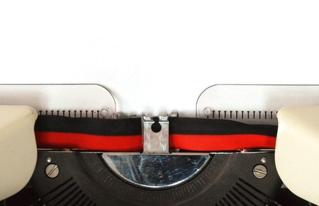 detail of a mechanical typewriter Stock Photo - 9249631
