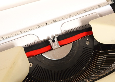 detail of a mechanical typewriter Stock Photo - 11148333