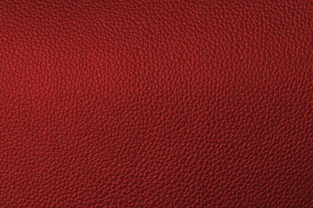 a natural red leather texture. close up. Stock Photo - 11475601