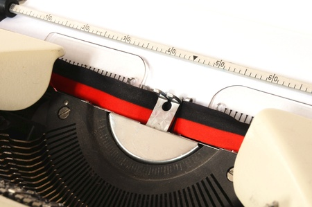 detail of a mechanical typewriter Stock Photo - 11741669