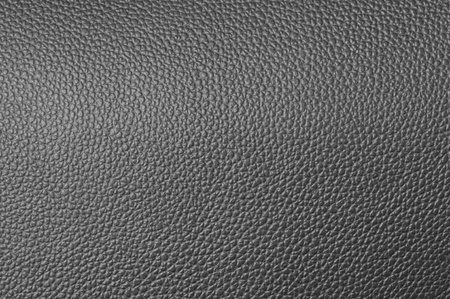 a natural gray leather texture. close up. Stock Photo - 12623960