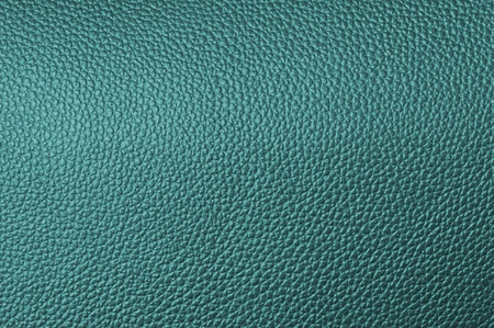 a natural blue leather texture. close up. Stock Photo
