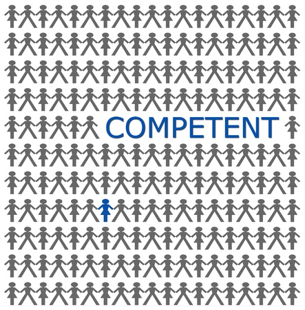 competent: Stand out from the crowd, be competent