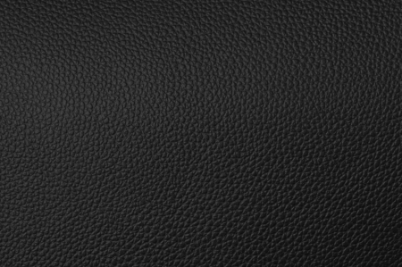a natural black leather texture. close up. Stock Photo - 13952675