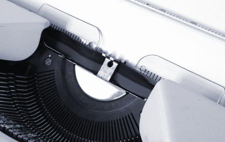detail of a mechanical typewriter Stock Photo - 15174703
