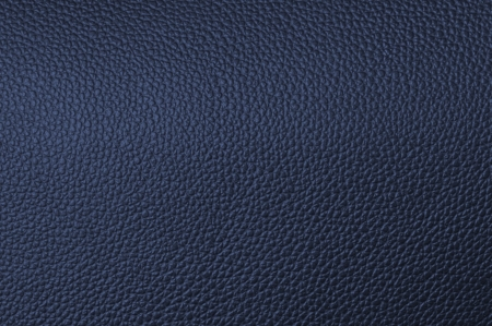 textrured: a natural blue leather texture. close up. Stock Photo
