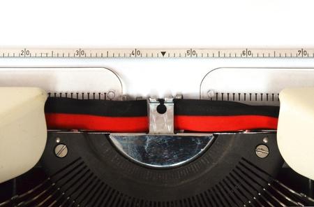 detail of a mechanical typewriter Stock Photo - 16332732