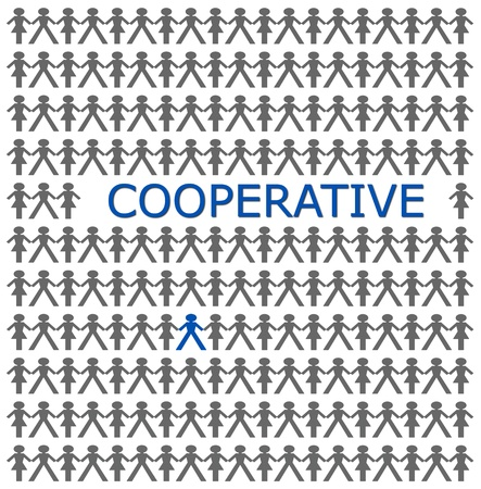 cooperative: Stand out from the crowd, be cooperative
