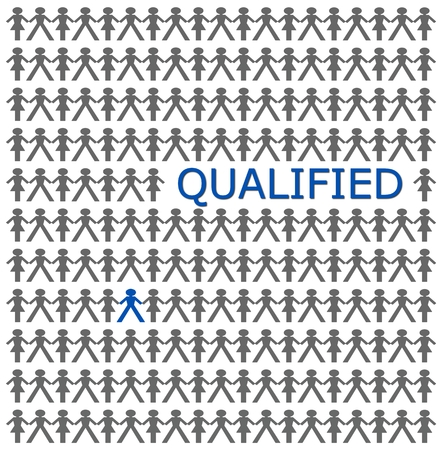 qualified: Stand out from the crowd, be qualified