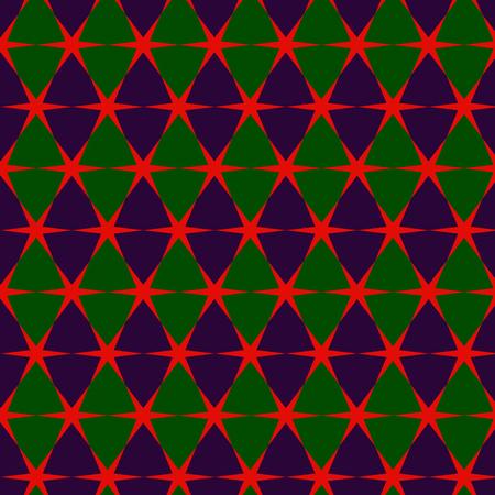 Colorful geometric pattern in arabian style Illustration
