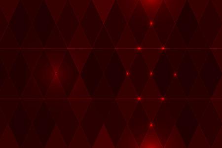 Beautiful red BG with diamonds Stock Photo